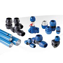 Compressed Air Piping, Aluminum Pipe, Pure Stream Piping System